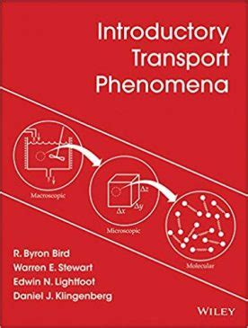 A Modern Course In Transport Phenomena English Edition