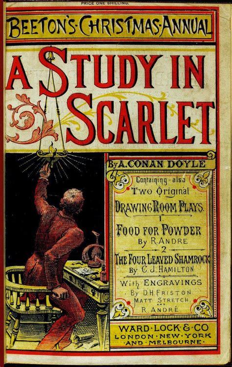 A Study In Scarlet By Sir Arthur Conan Doyle Illustrated English Edition