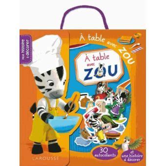 A Table Avec Zou
