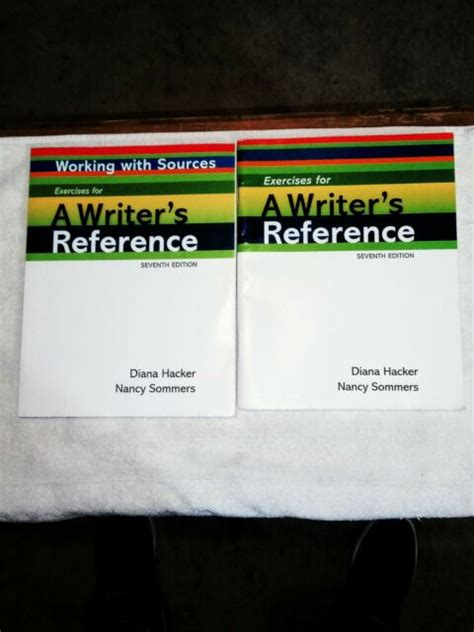 A Writers Reference With Exercises By Diana Hacker 2010 11 30