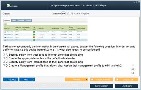 ACE Actual Exam