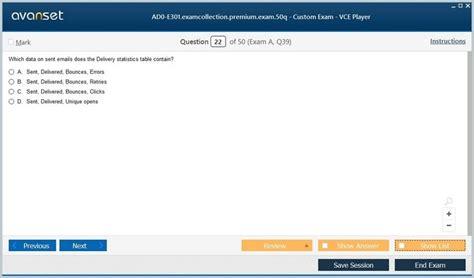 AD0-E401 Mock Exam