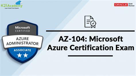 AZ-104 Certification Test Answers