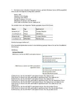 AZ-104 Deutsche Prüfungsfragen
