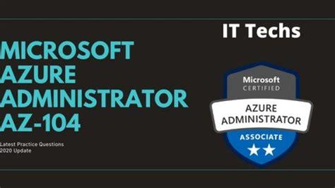 AZ-104 Latest Test Practice