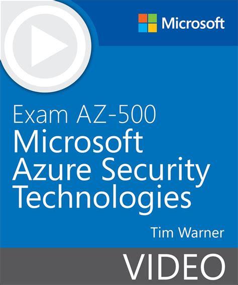 AZ-500 Exam Book