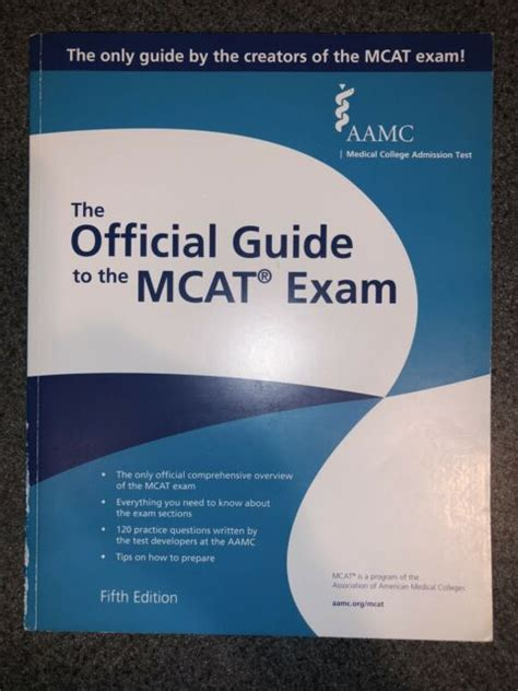 Aamc Official Guide To Mcat 2015