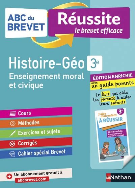 Abc Du Brevet Reussite Parent Histoire Geographie Emc 3e