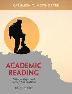 Academic Reading 8th Edition