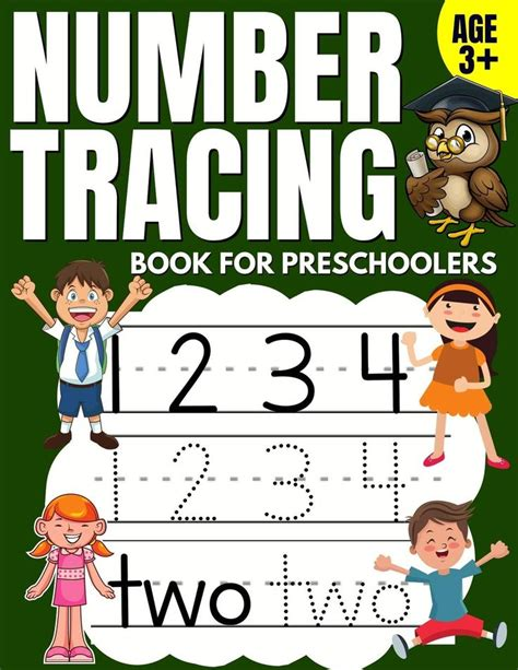 Activity Book Toddler Number Ages 3 5 For Kindergarten Activity Book For Kids