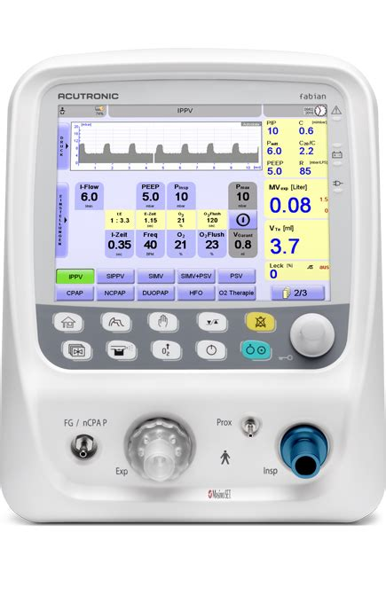 Acutronic Fabian Ventilator Hfo User Guide
