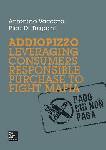 Addiopizzo Leveraging Consumers Responsible Purchase To Figh
