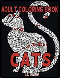Adult Coloring Book: Cats For Stress Relieving And Relaxation: 50 Design Cat Theme Coloring Book With Mandela Patterns For Grownups