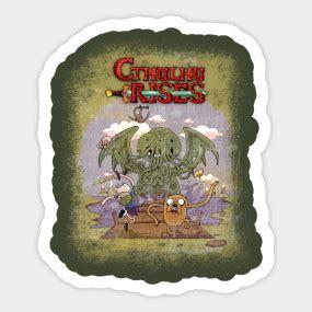Adventure Time H P Lovecraft Cthulhu Rises Kids T Shirt