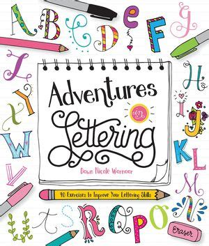 Adventures In Lettering 40 Exercises To Improve Your Lettering Skills