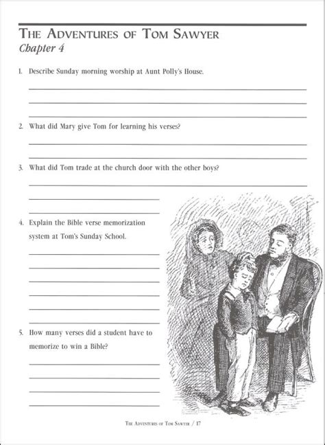Adventures Of Tom Sawyer Study Guide Questions