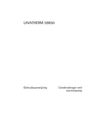 Aeg T59850 User Manual