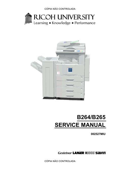 Aficio 3035 Repair Manual