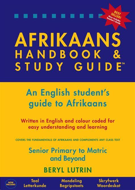 Afrikaans Handbook And Study Guide Grade 7