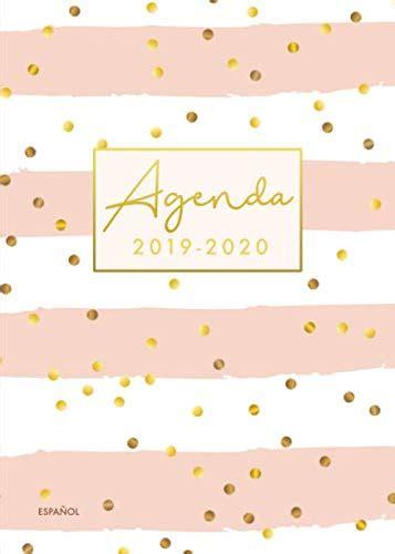 Agenda 2019 2020 18 Meses Organiza Tu Dia Agenda Semanal Julio 2019 A Diciembre 2020 Espanol Cheuron Rosa