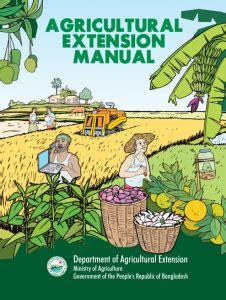Agricultural Extension Manual Bangladesh Melvas