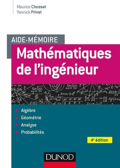 Aide Memoire Mathematiques De Lingenieur 4e Ed