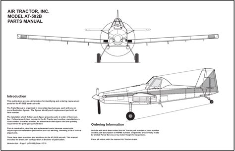 Aircraft Air Tractor Owners Manual