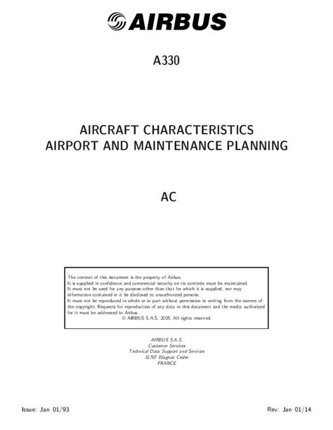 Airport Planing Manual Airbus