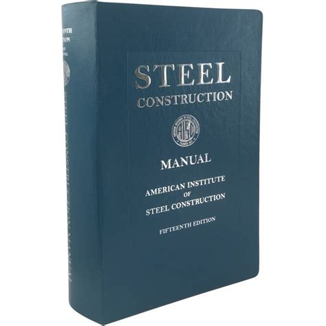 Aisc Structural Steel Manual