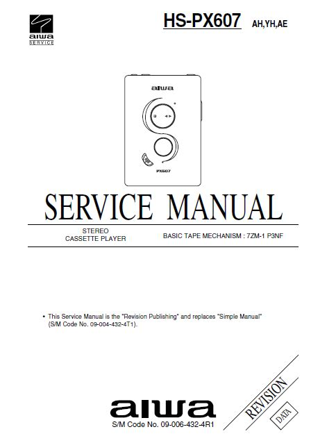Aiwa Hs Tx591 Stereo Radio Cassette Player Service Manual