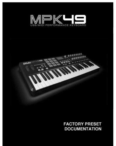 Akai Mpk49 Owners Manual