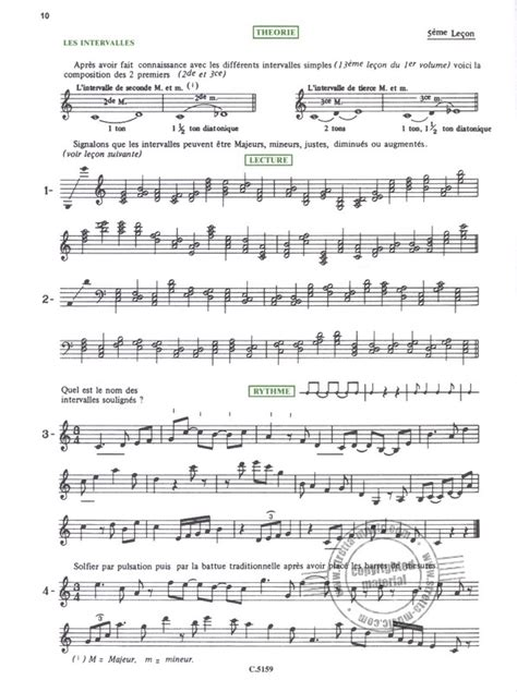 Alain Truchot Guide Formation Musicale Volume 2