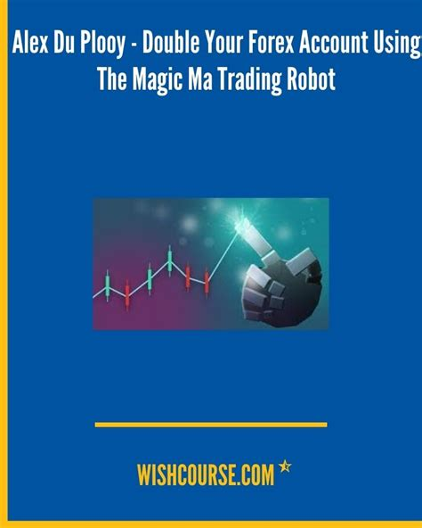 Alex du Plooy - Double your Forex Account using the MAGIC MA Trading Robot