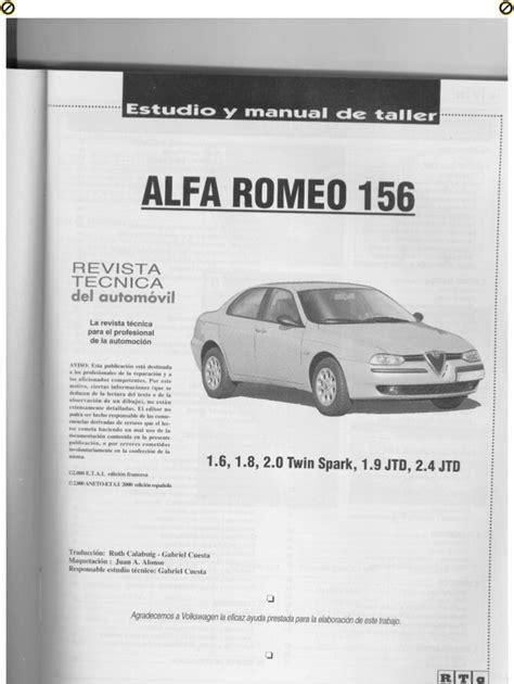 Alfa Romeo 156 Owner Manual