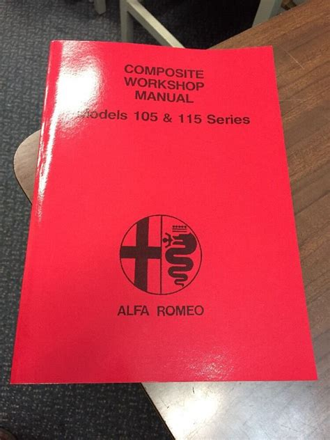 Alfa Romeo Spider 105 Workshop Manual