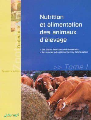 Alimentation animale : Raisonnement de l'alimentation des animaux d'élevage