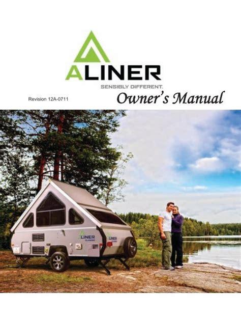 Aliner Weekender Owners Manual