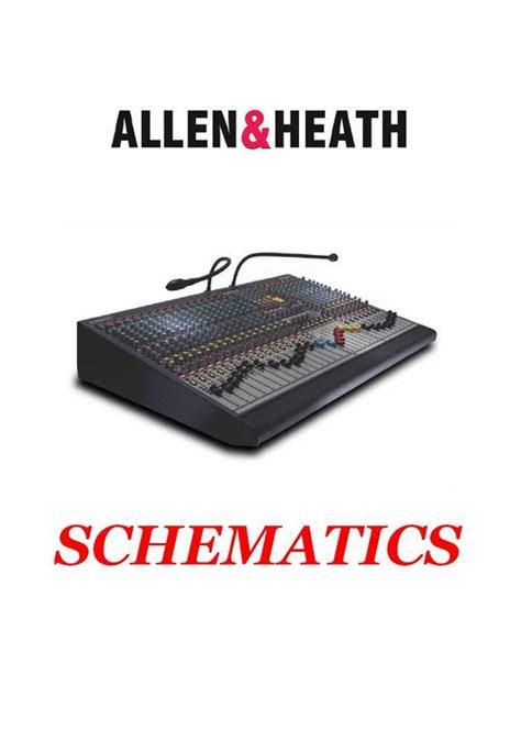 Allen Heath Gl 3000 Console Original Service Manual