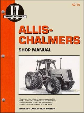 Allis Chalmers 8070 Workshop Service Repair Manual