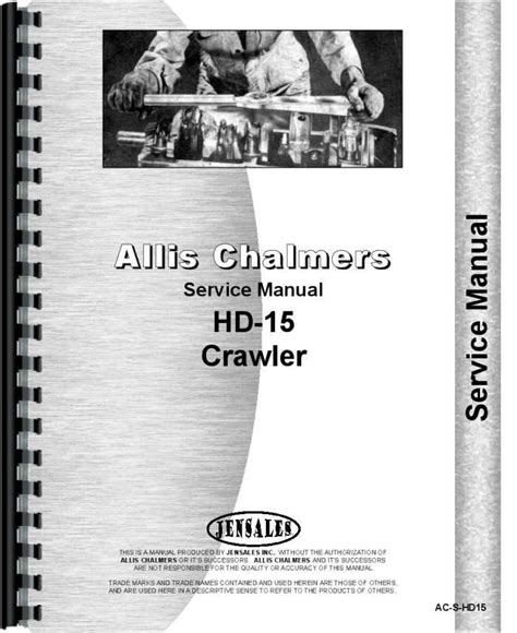 Allis Chalmers Boss Forklift Service Manual