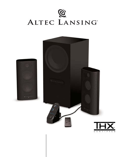Altec Lansing Home Theater Manual