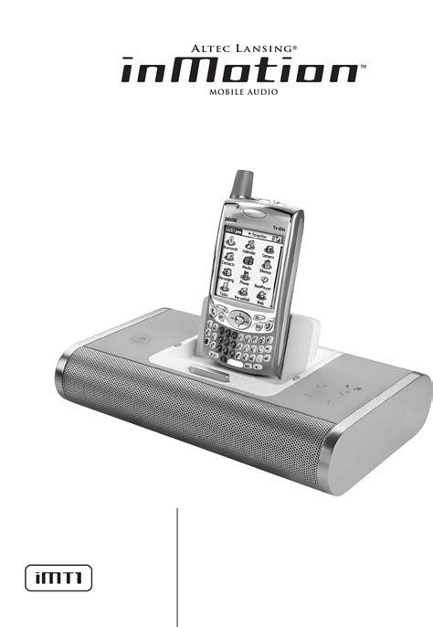 Altec Lansing Inmotion Imt521 Manual