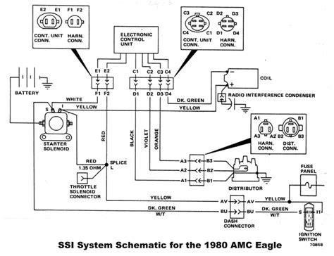 Alternator 1976 Jeep Ignition Module Wiring