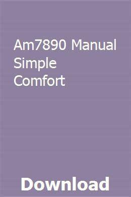 Am7890 Manual