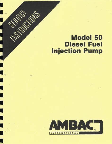 Ambac Diesel Pump Repair Manual