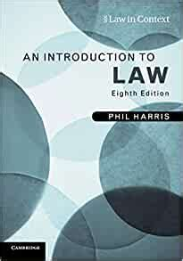 An Introduction To Law Law In Context