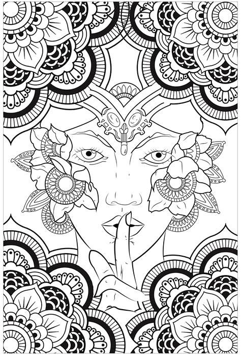 Andalas Y Otros Dibujos Budistas Para Colorear Anti Stress Coloring
