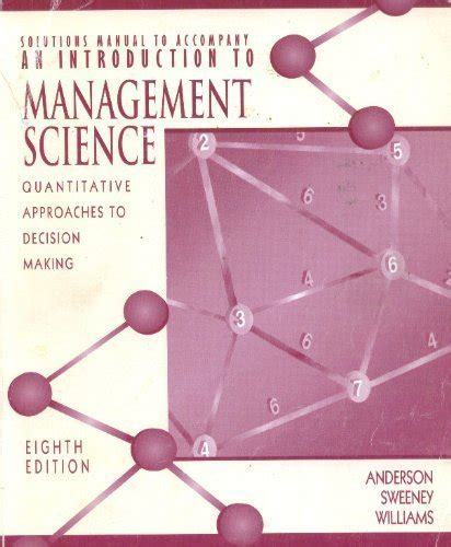 Anderson Sweeney Williams 10e Solution Manual