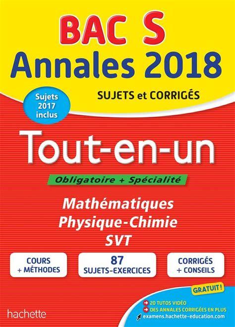 Annales Bac 2018 Tout En Un Term Es