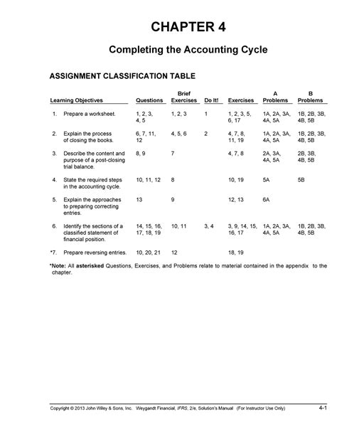 Answer Key Financial Accounting Ifrs Edition